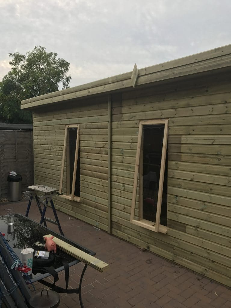 office sheds. 30x10 Pent Summerhouse Fully Insulated Office West Midlands Sheds \u0026 Summerhouses