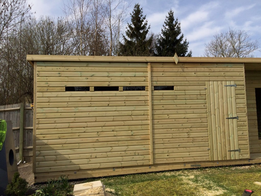 48x10 19mm Ultimate Tanalised Summerhouse Shed Man