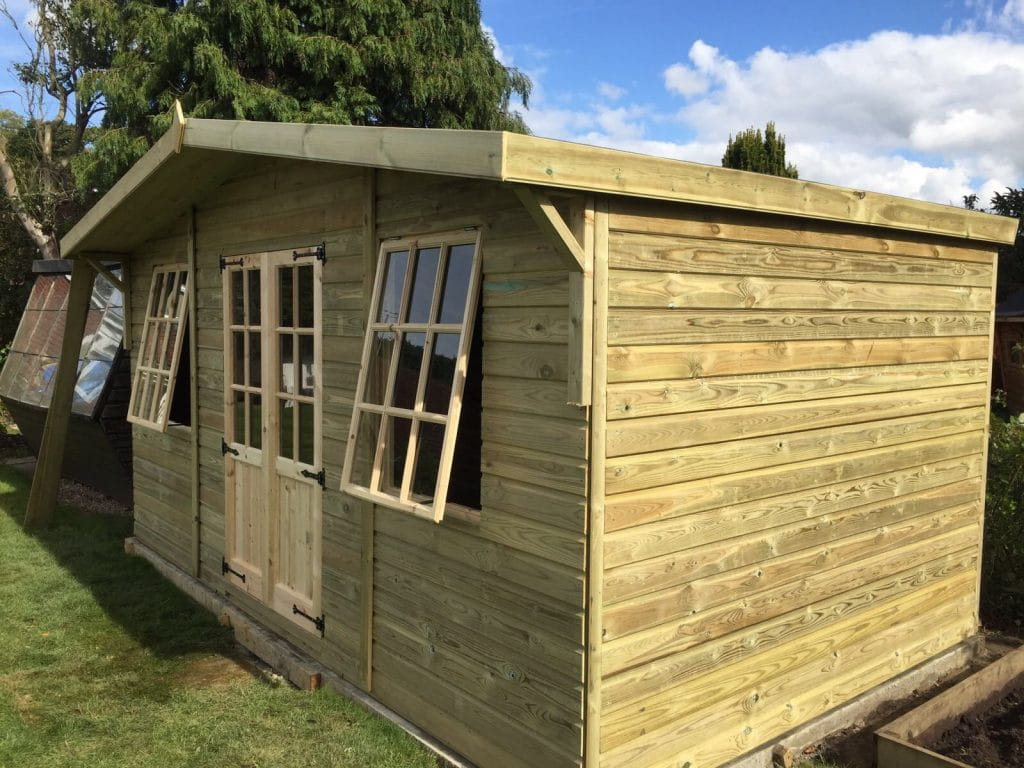16x10 Georgian Reverse Summerhouse with 2ft Canopy West Midlands Sheds u0026 Summerhouses & 16x10 Georgian reverse summerhouse with 2ft canopy - Midlands ...